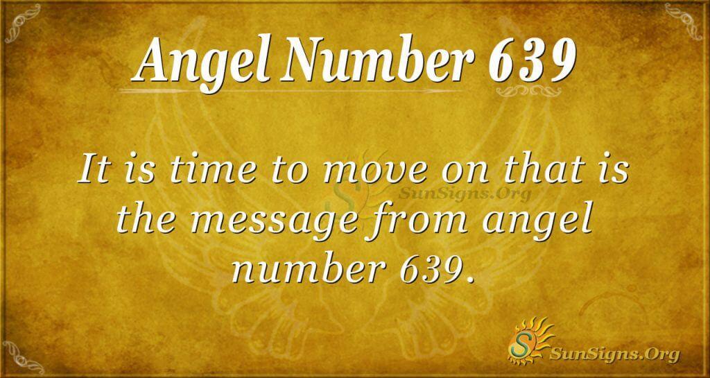 angel number 639
