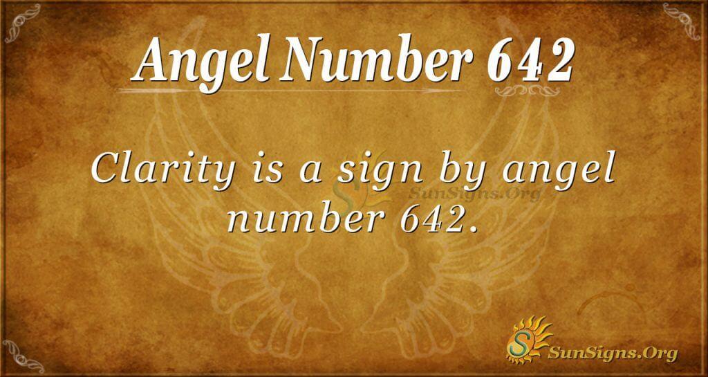 angel number 642
