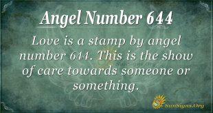 angel number 644