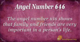 angel number 646