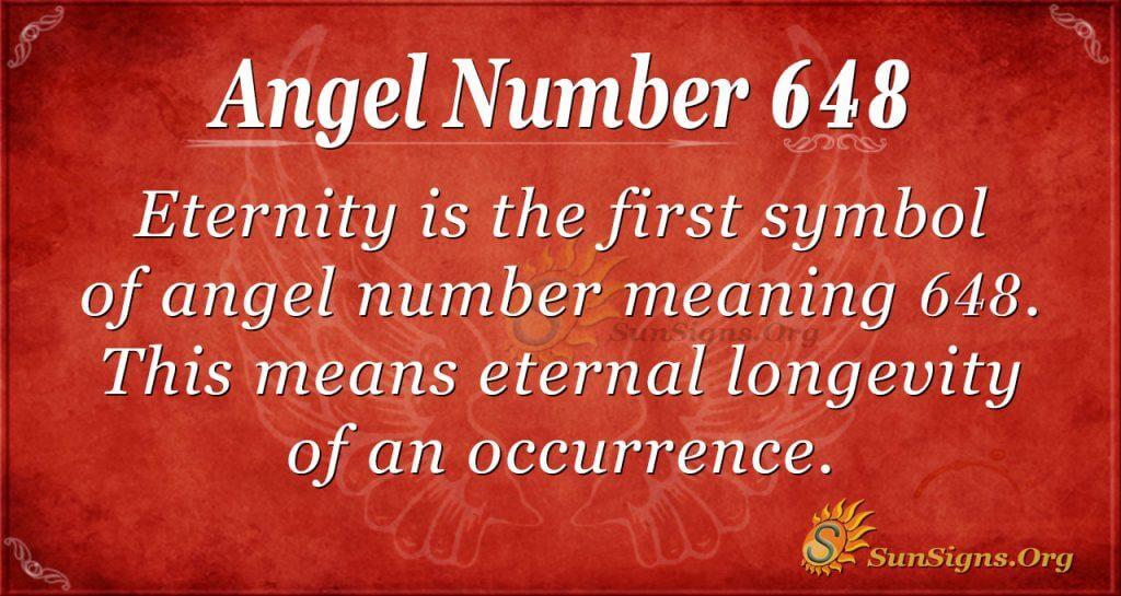 angel number 648