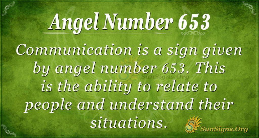 Angel Number 653
