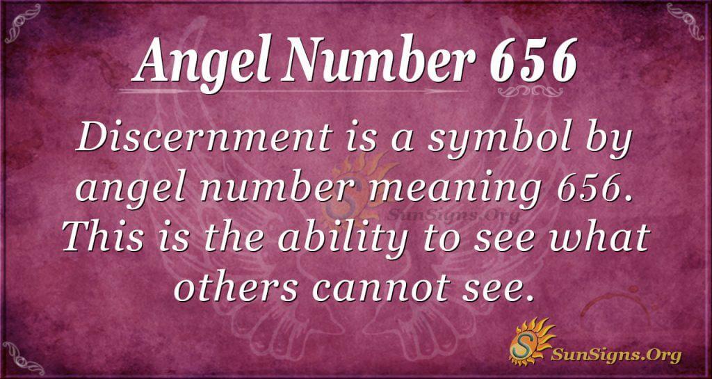 Angel Number 656