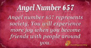 Angel Number 657