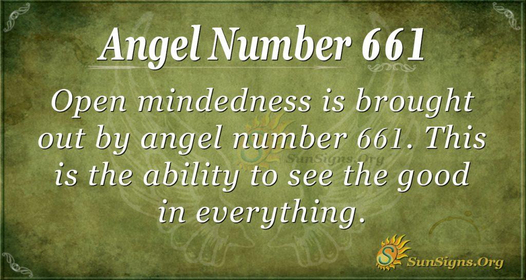 Angel Number 661