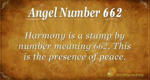Angel Number 662