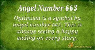 Angel Number 663