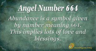 Angel Number 664