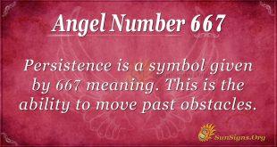 Angel Number 667