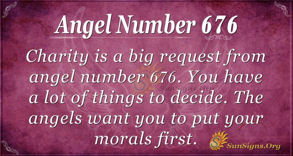 Angel Number 676