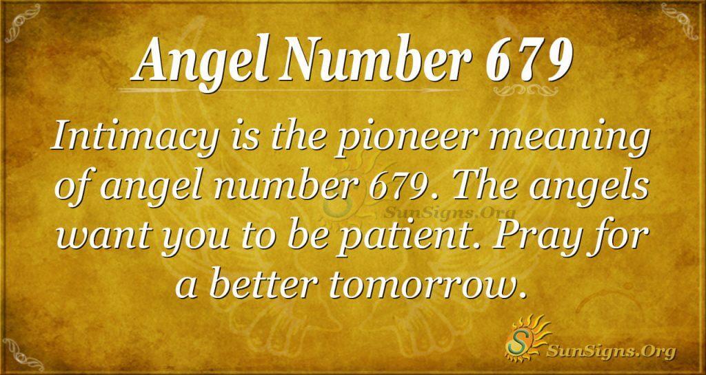 Angel Number 679