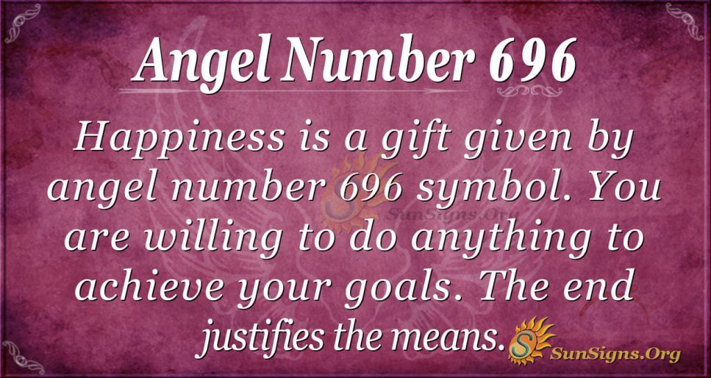 Angel Number 696