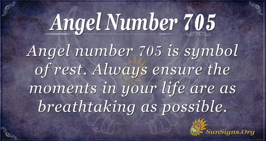 Angel Number 705