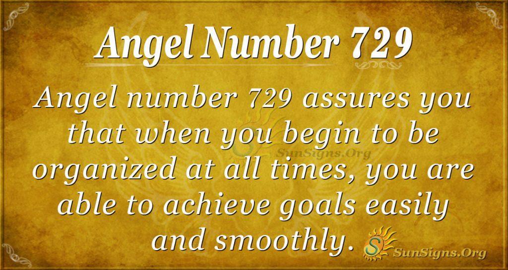 Angel Number 729