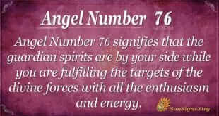 Angel Number 76
