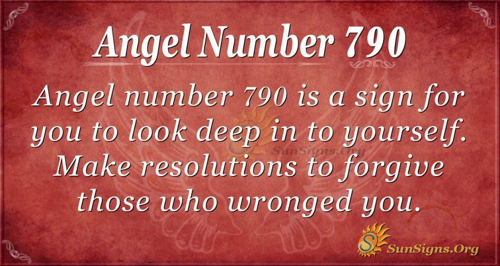Angel Number 790