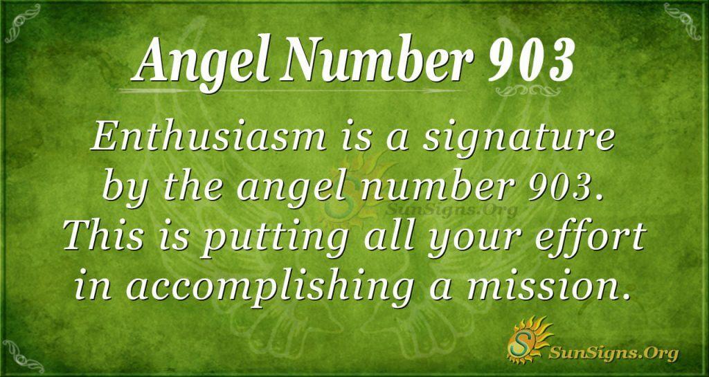 angel number 903