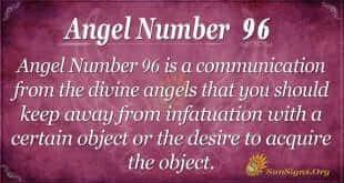 Angel Number 96