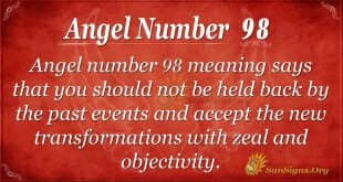 Angel Number 98