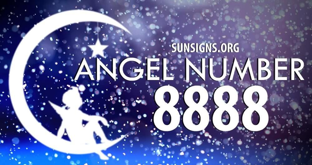 Angel number 8888 indicates a financial abundance