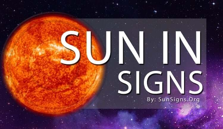 sun in the 12 zodiac signs