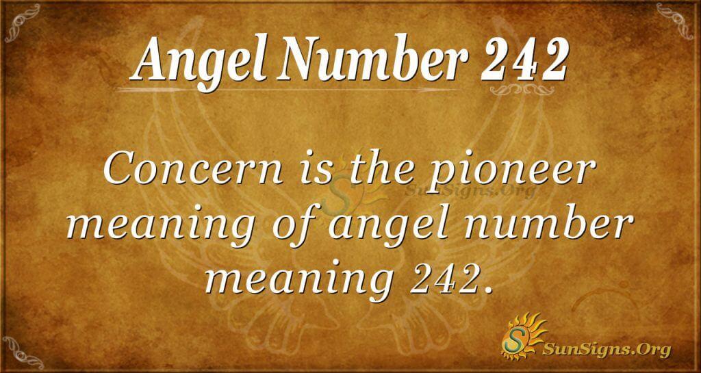 angel number 242