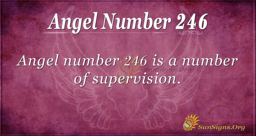 angel number 246