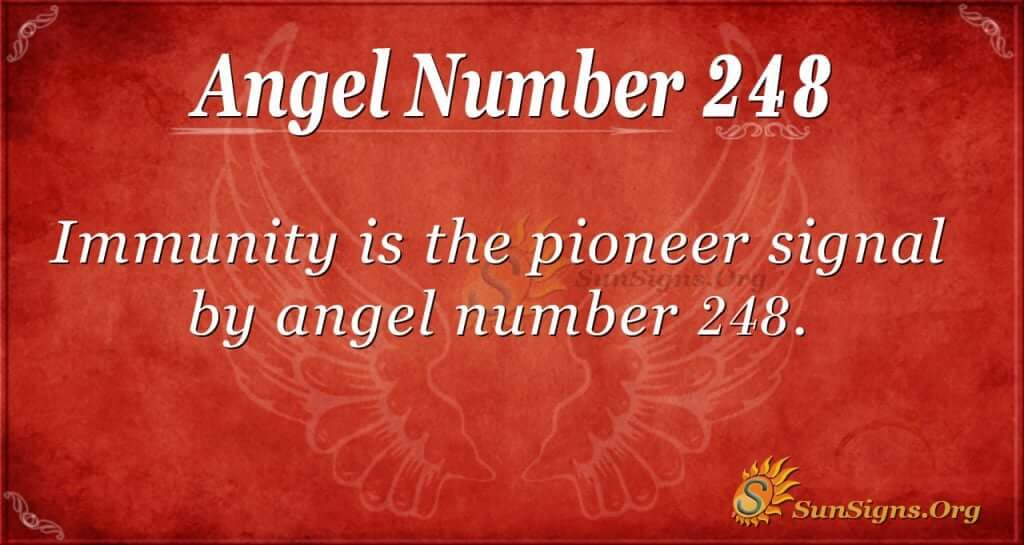 angel number 248