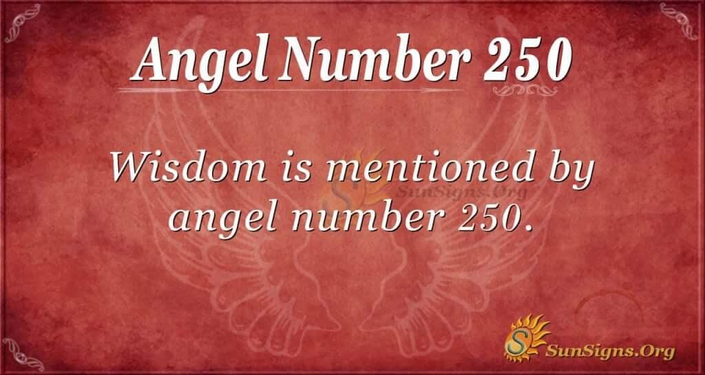 angel number 250