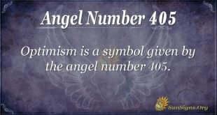 Angel Number 405