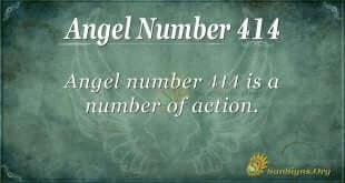 Angel Number 414
