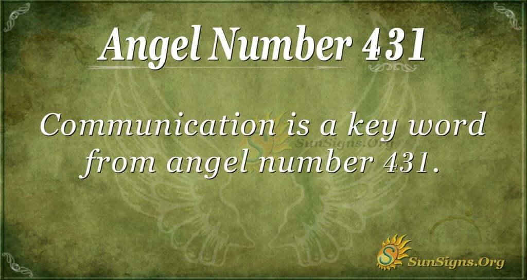 Angel Number 431