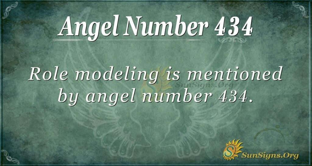 Angel Number 434