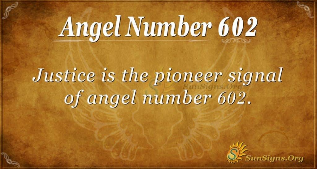 angel number 602