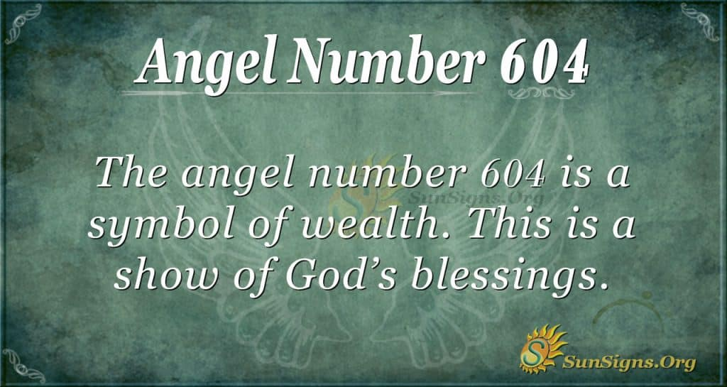 angel number 604