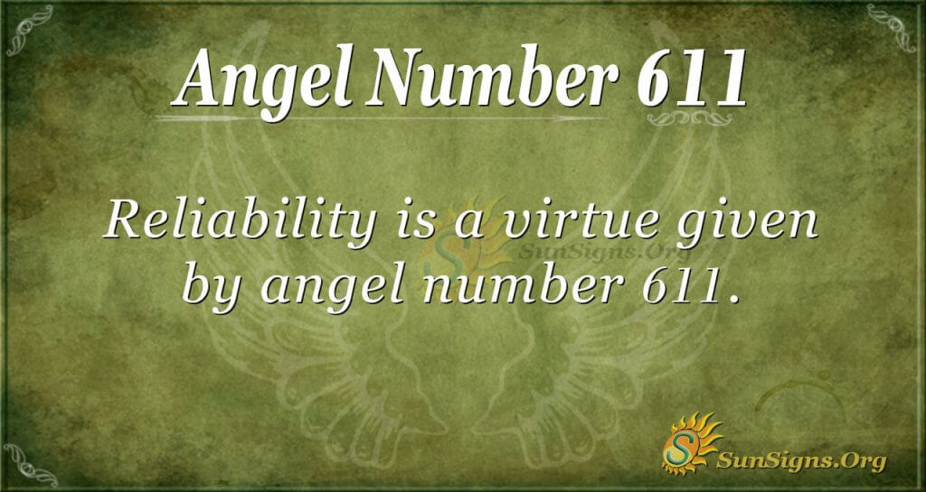 angel number 611