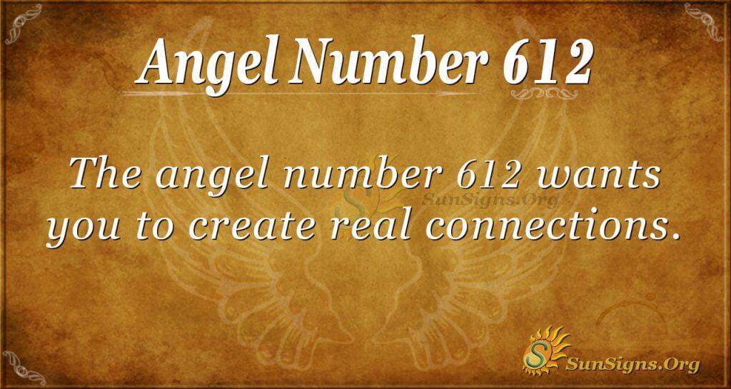 angel number 612
