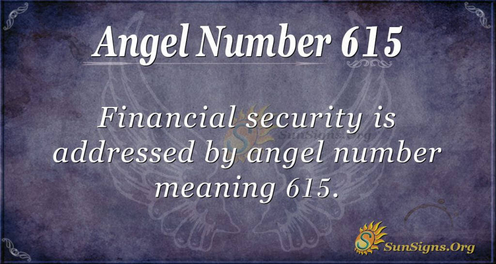 angel number 615