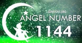 angel number 1144