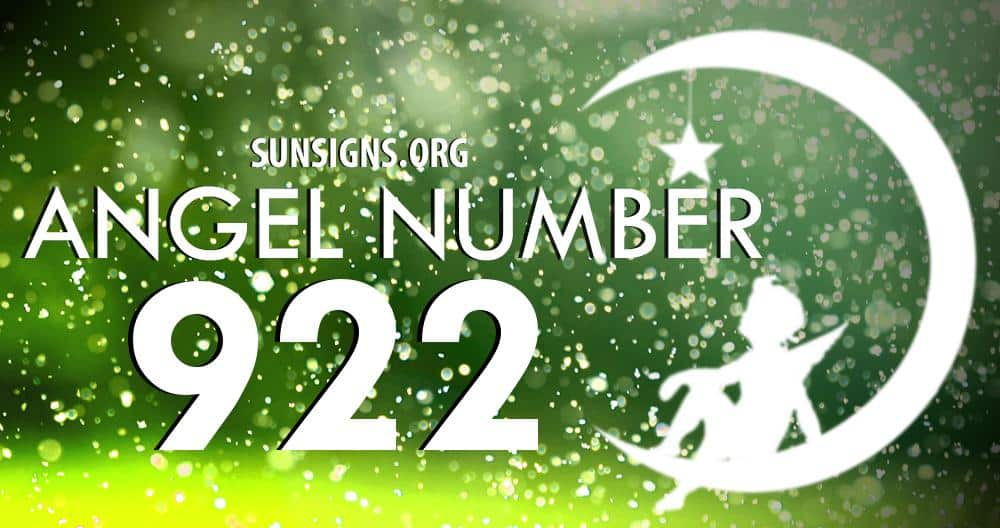 Angel Number 922 Meaning