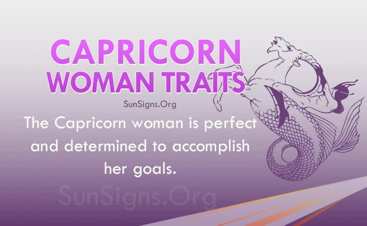 Woman Of Physical Capricorn Characteristics A