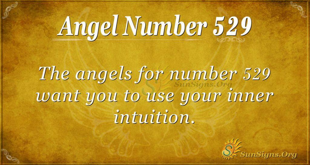 Angel Number 529