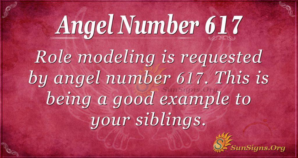 angel number 617