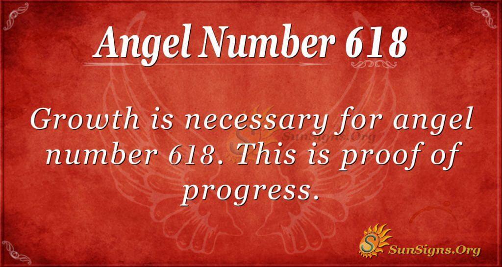 angel number 618