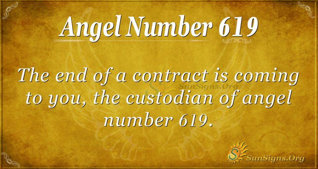 angel number 619