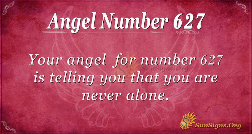 angel number 627