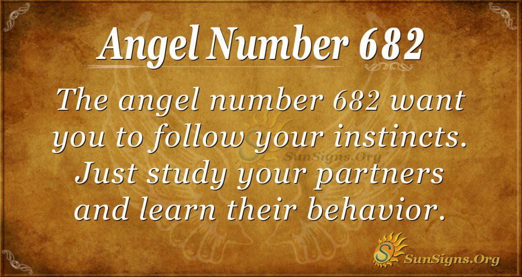 Angel Number 682