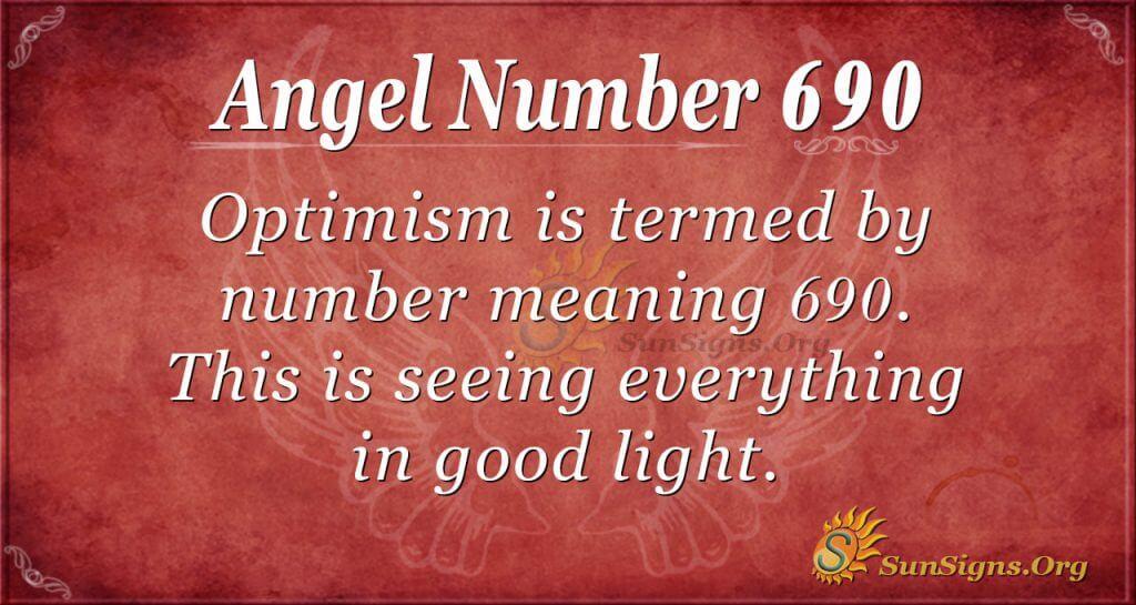 Angel Number 690