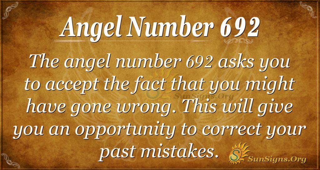 Angel Number 692