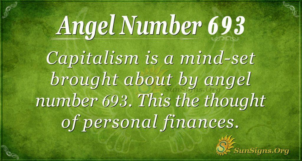 Angel Number 693